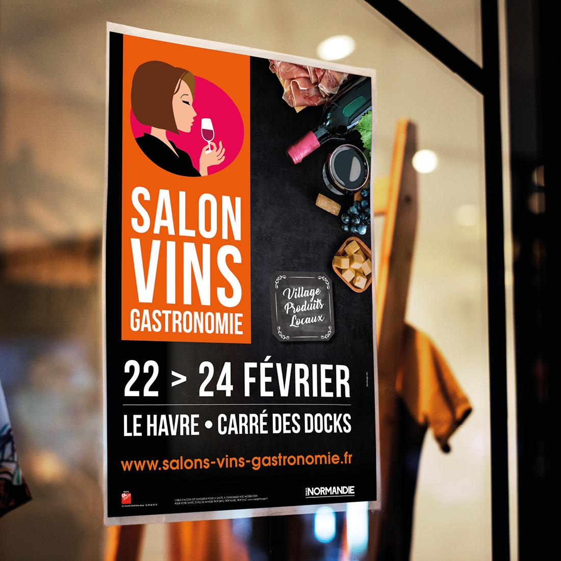 Affiche A3 boutique